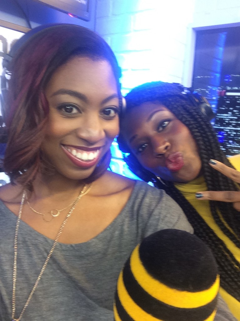 Fun times with my co-host of POLA