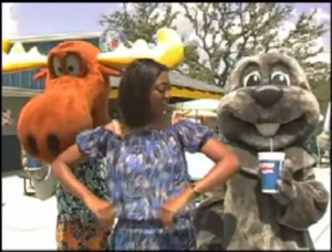 Pepsi Promo Shoot with Rocky  and Bullwinkle